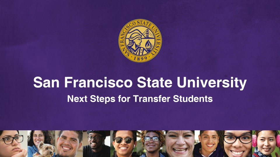 San Francisco State University | Next Steps for Transfer